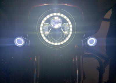 Turn Signal Lights Lit